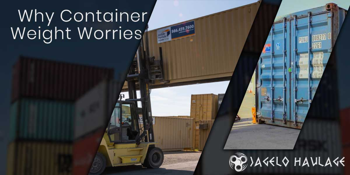 Why Container Weight Worries?
